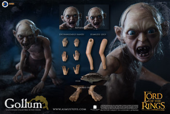 Asmus Toys LOTR30G Gollum 1/6th scaled action figure (Pre order deposit)