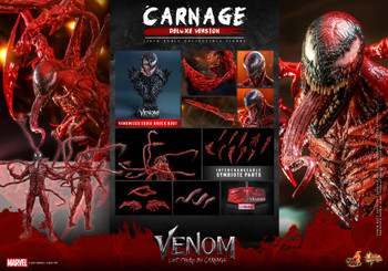 Hot Toys MMS620 1/6 Scale CARNAGE Deluxe Version (Pre order deposit)