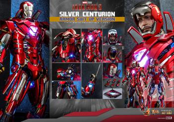 Hot Toys MMS618D43 Iron Man 3 Silver Centurion (Armor Suit Up Ver) (Pre order deposit)