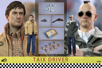Chong C005 1/6 Scale  TAIX Driver Double pack (Pre order deposit)