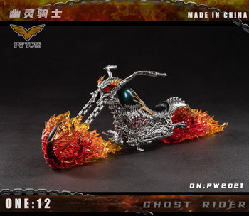 PWTOYS PW2021 1/12 Scale The Hell Bike (Pre order deposit)