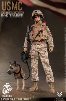 FLAGSET FS73042 1/6 USMC Dog Trainer (Pre order deposit)