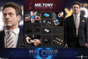Mars Toys MAT006 1/6 Scale Mr. Tony Court Set (Pre order deposit)