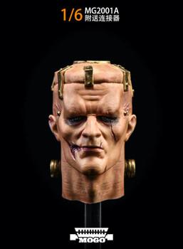 Mogo Toys MG2001A 1/6 Weird Frankenstein Head sculpt (gold color) (in stock)
