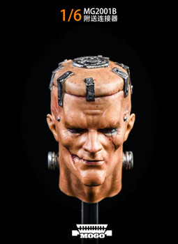 Mogo Toys MG2001B 1/6 Weird Frankenstein Head sculpt (silver color) (in stock)