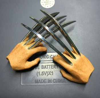 Custom 1/6 scale open palm diecast claws (in stock)