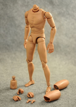 Custom B001 1/6 scale narrow shoulder body (in stock)