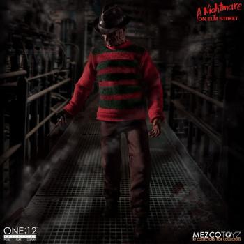 Mezco Toyz 1/12 scale Freddy Krueger figure (in stock)