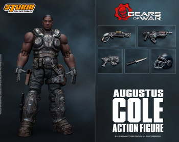 Storm Collectibles 1/12 scale Augustus Cole Figure (in stock)