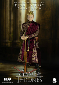 Threezero The GOT 1/6 KING JOFFREY BARATHEON figure (DX) (in stock)