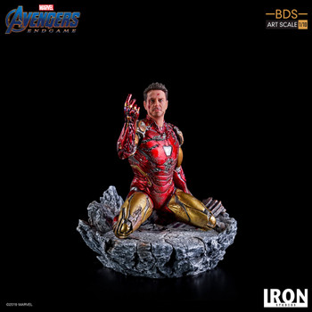 Iron studios 1/10 art scale I am Iron Man statue (in stock)