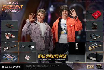 Blitzway 1/6 Scale Bill & Ted's Excellent Adventure, 1989 (in stock)