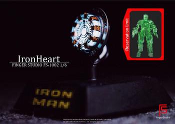 Finger Studio FS-1002 1/6 scale Iron Heart (in stock)