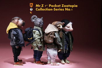 Mr.Z Pocket Zootopia Collection Series 7'' figure WoHe Ma (C) (In Stock)