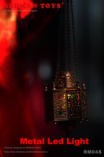 Redman RM045 1/6 Dracula Metal Led Light (Pre order deposit)