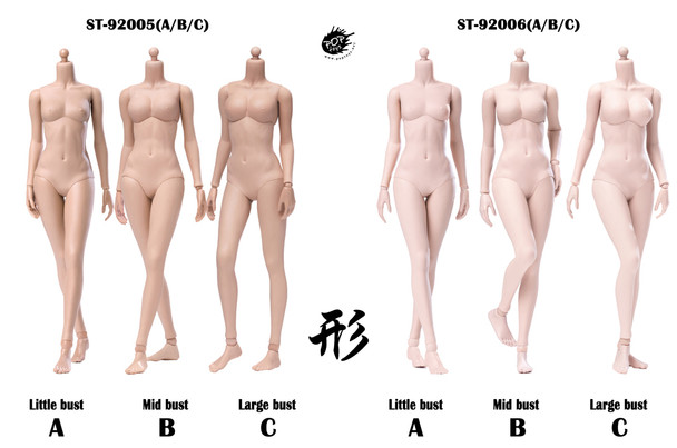 POPTOYS 1/6 XING Series Modified Ver Super flexible female body w/ seamless arm (in stock)