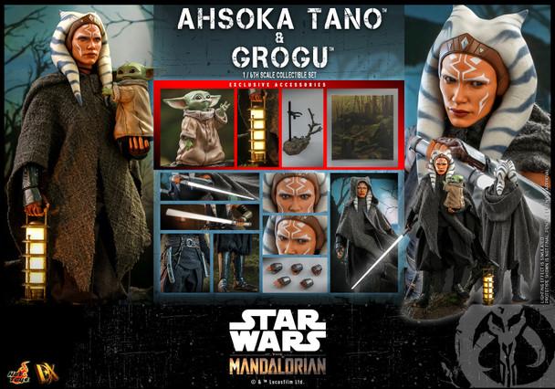 Hot Toys DX21 1/6 Scale AHSOKA TANO & GROGU figure (Pre order deposit)