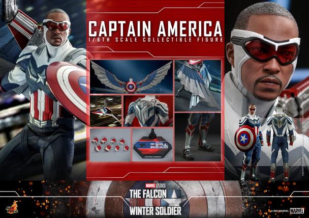 Hot Toys TMS040 1/6 captain america figure (Pre order deposit)
