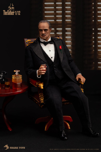 Shark toys 1/12 scale the mafia boss figure (Pre order deposit)