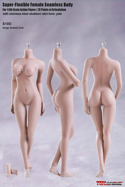 Tbleague 1/6 scale S10D Pale Large Bust female seamless body (in stock)