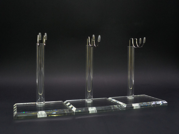 Custom 1/6 scale acrylic figure display stand set of 3 (in stock)