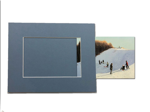 Slide-in Photo Mat Packages - 11 x 14