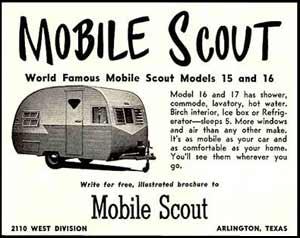 Mobile Scout Trailer