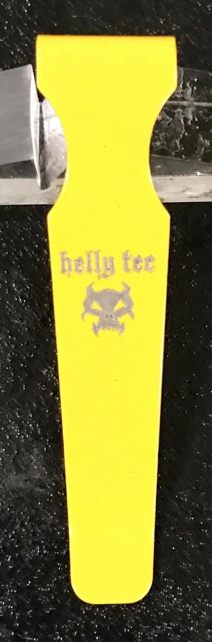 Replacement Pocket Clip Medium Hellion Yellow
