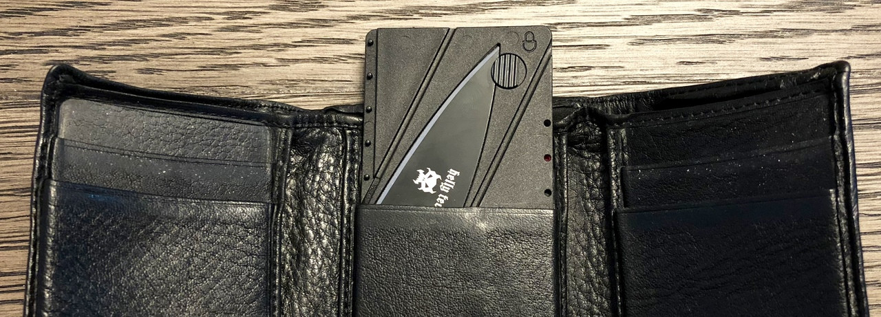 Helly Tec Credit Card Knife