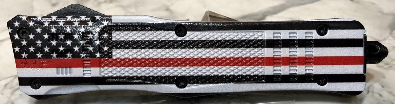 Large Hellion Thin Red Line Flag Custom Print Edition