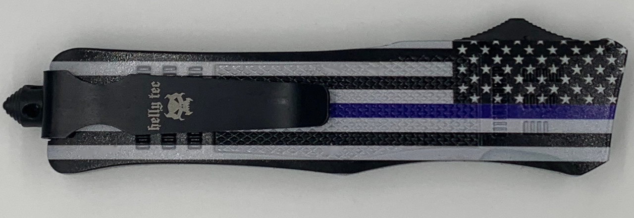 Large Hellion Thin Blue Line Flag Custom Print Edition