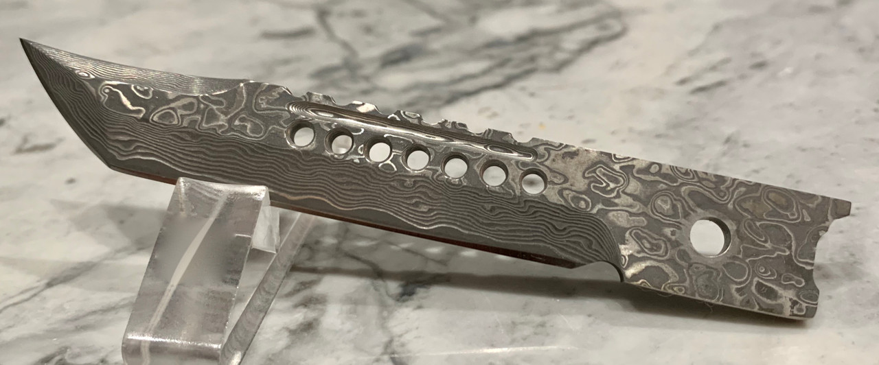 Damascus Ripper Tanto