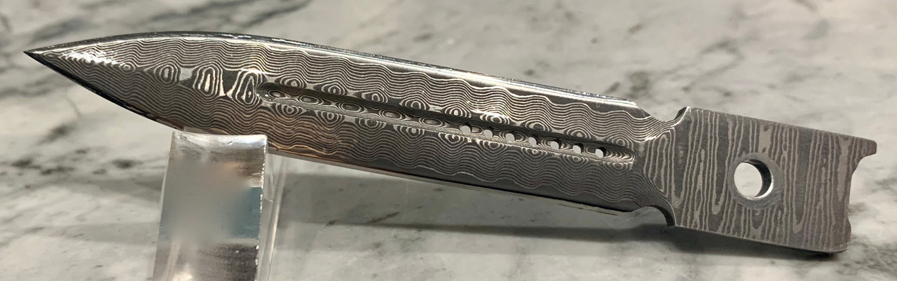 Damascus Dagger Straight Edge
