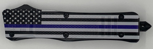 Large Hellion Thin Blue Line Flag Custom Print Edition