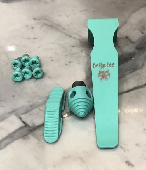 Teal Blue Hardware Upgrade Kit Medium Hellion