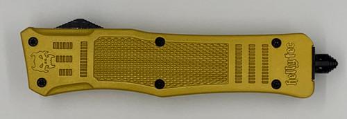 Medium Hellion Metallic 18K Gold