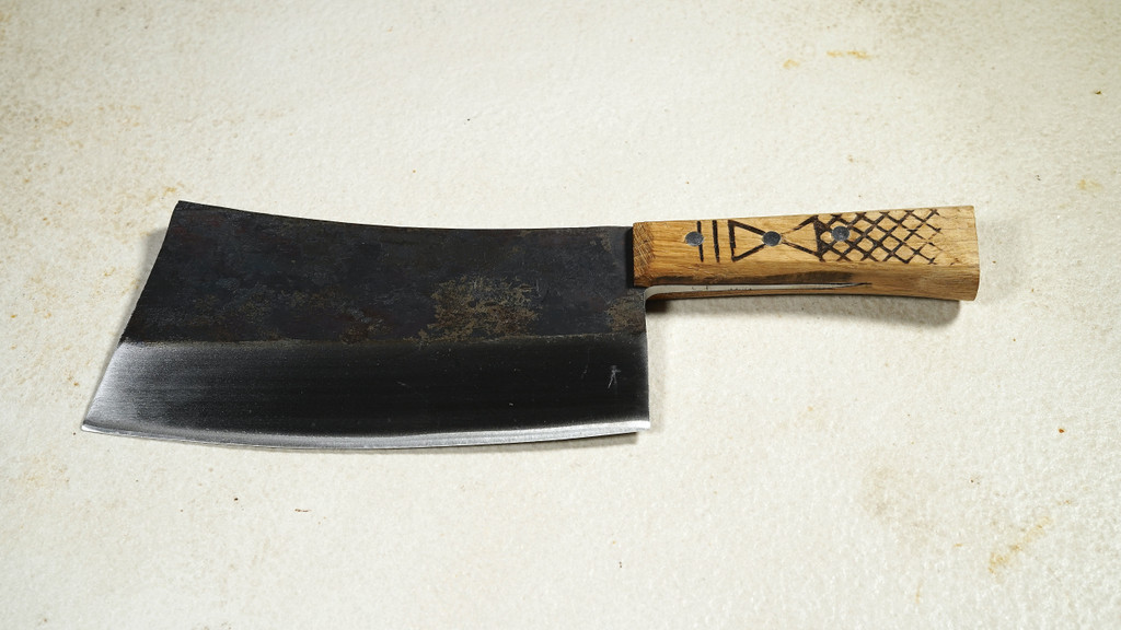 Hand Forged Heavy Butcher Cleaver