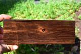 Sumatran Ebony 11 (2 1/2 X 1 3/8 X 7)