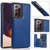 Luxury Slim Fit Premium Leather Wallet Phone Case with Shockproof Flip Shell and Card Holder- Samsung Note 20 Ultra + 5G and Note 20 + 5G