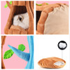 Tree Stump Nest and Cozy Cave Bed for Cats and Small Pets - Warm Cushioned Lounger for Autumn and Winter