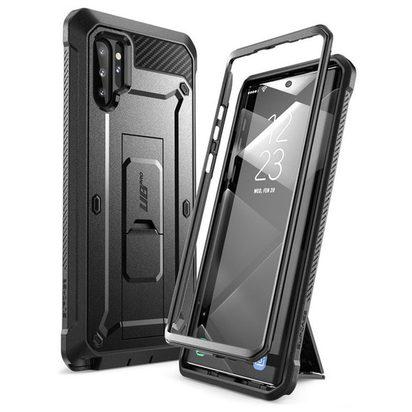 Full Body Fitted Phone Case with Holster, Without Built-in Screen Protector & Kickstand - For Samsung Galaxy Note 10 Plus 5G