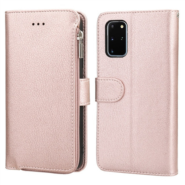 Leather Zip Wallet Phone Case - Samsung S20 Note 10 and S10