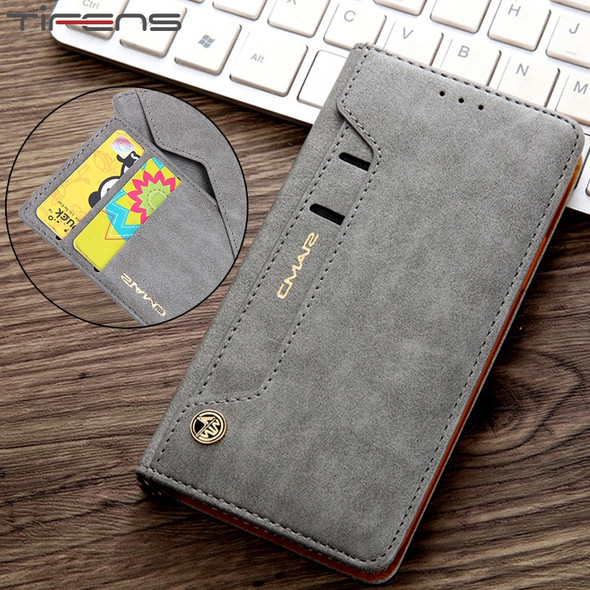 Leather Flip Wallet Phone Cover Case For Galaxy S20 Ultra, S20 Plus, and S20