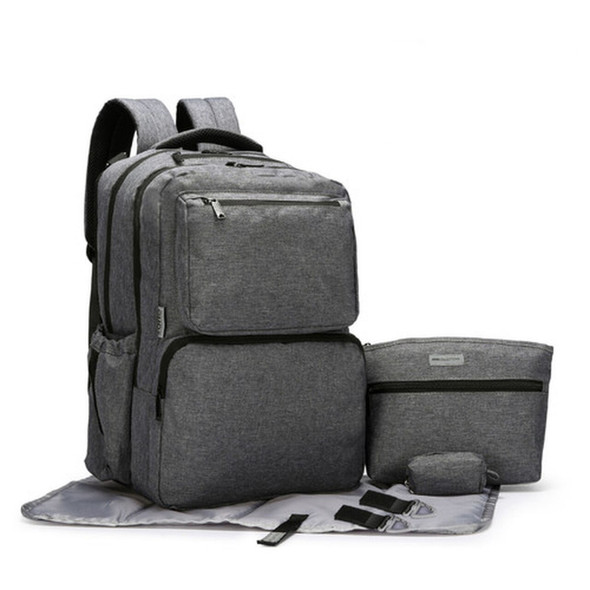 5 Piece Ultimate System Dark Gray Backpack - Autumn Dreams  Store