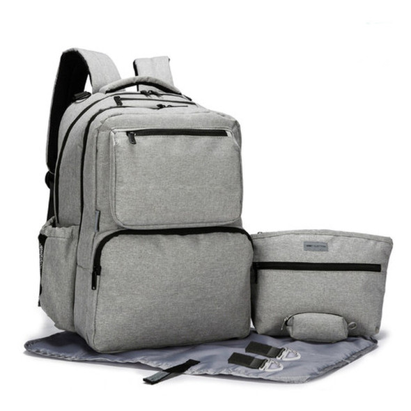 5 Piece Ultimate System Light Gray Backpack - Autumn Dreams  Store