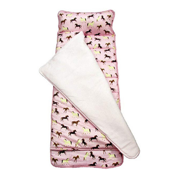 Childrens Nap Mat - Pink Horse