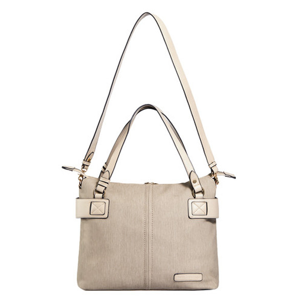 Lansing Vegan Leather Tote - Diaper Bag