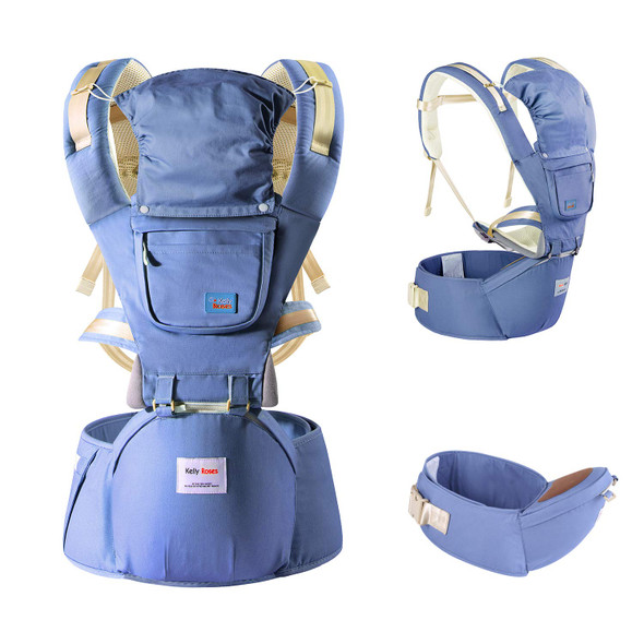 Multi-functional  Baby Carrier and Backpack with Hip Seat