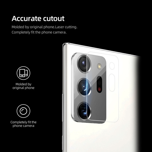 Tempered Glass Rear Camera Lens Protector for Samsung Galaxy Note 20 Ultra 5G and Note 20