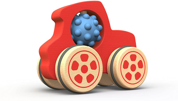 eco-friendly wood toy tractor-autumn dreams store